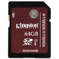 Secure Digital 64GB, UHS-I Speed Class 3